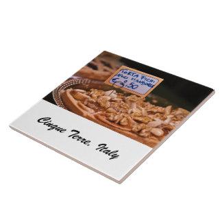 Foto-Fliese - Nachtisch-Kuchen - Cinque Terre, Fliese