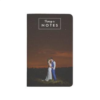 Foto-Geschenk-personalisierte Taschen-Zeitschrift Taschennotizbuch