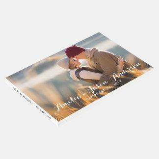 Foto-Hochzeits-Gast-Buch, addieren Ihr Foto Gästebuch