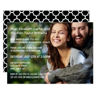 Foto - Hochzeits-Mitteilung Karte