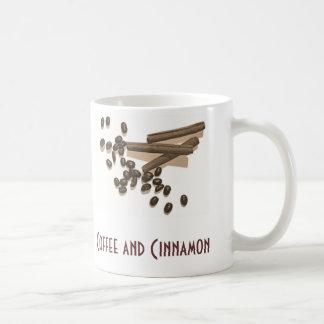 Foto-Kaffee und Zimt Kaffeetasse