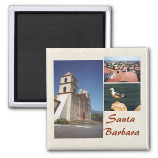 Foto-Magnet-Schablone Santa Barbara 3