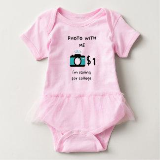 Foto mit Baby Baby Strampler