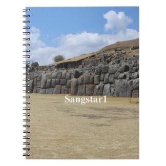 Foto-Notizbuch (80 Seiten B&W) Saqsaywaman Notizblock