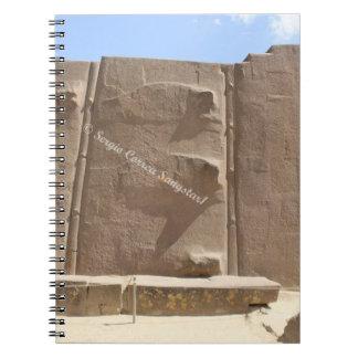 Foto-Notizbuch (80 Seiten B&W) Spiral Notizblock