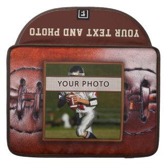 Foto-personalisierte Fußball-Laptop-Kasten-Hülsen MacBook Pro Sleeve