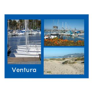 Foto-Postkarte Ventura-Ufer-drei Postkarte