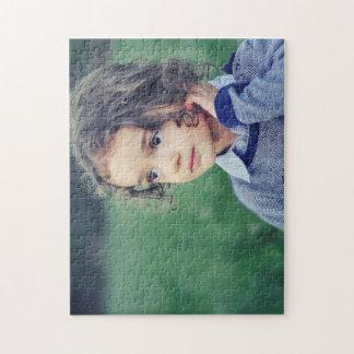 Foto-Puzzlespiel des Kind11x14 mit Geschenkboxen