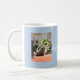 Foto-Schablonen-Tasse Pasadenas im Stadtzentrum Kaffeetasse