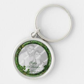 Foto-St Patrick Tagesschlüsselkette Schlüsselanhänger