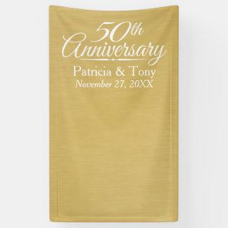 Foto-Stand-Hintergrund - 50. Hochzeits-Jahrestag Banner