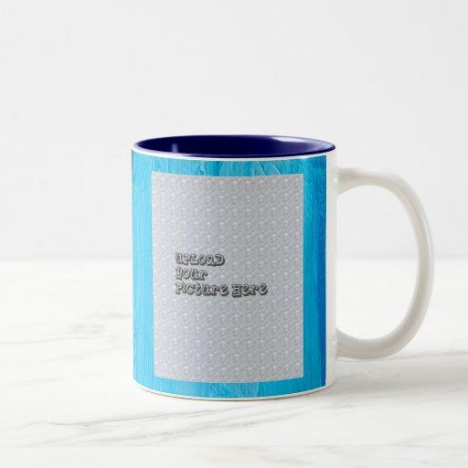 Foto-Tassenschablone mit Initialen Kaffee Haferl