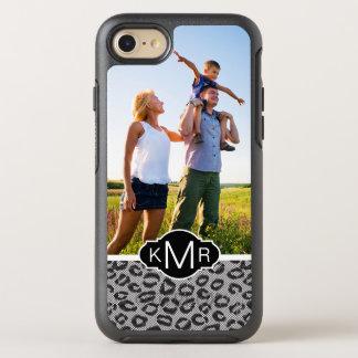 Foto- u. Monogrammspitze mit Leopardmuster OtterBox Symmetry iPhone 8/7 Hülle