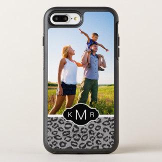 Foto- u. Monogrammspitze mit Leopardmuster OtterBox Symmetry iPhone 8 Plus/7 Plus Hülle