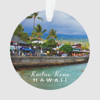 Foto u. Text Kailua Kona Pier-Hawaiis 2 Ornament