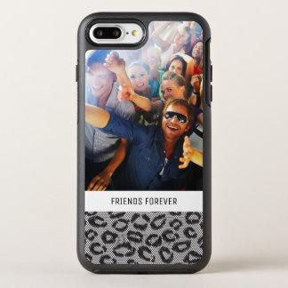 Foto- u. Textspitze mit Leopardmuster OtterBox Symmetry iPhone 8 Plus/7 Plus Hülle