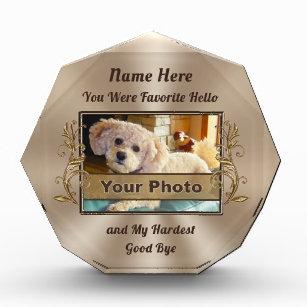 Foto und personalisierte einzigartige auszeichnung
