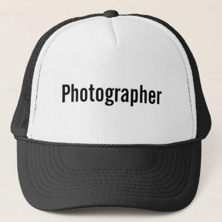 Fotograf Truckerkappe
