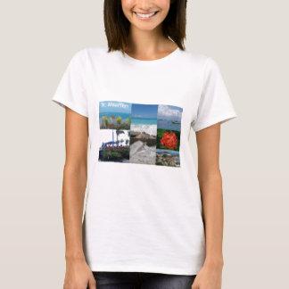 Fotografie-Collage St. Maarten-Sint Martin T-Shirt