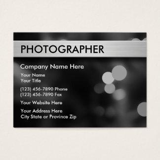 Fotografie-Visitenkarten Visitenkarte