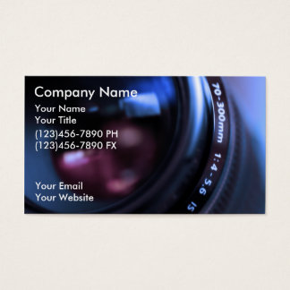 Fotografie-Visitenkarten Visitenkarten