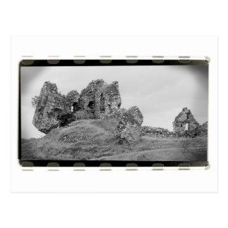 Fotografie von Ruinen Postkarte