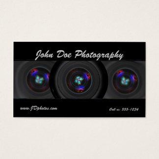 Fotograflinse-Visitenkarte Visitenkarten