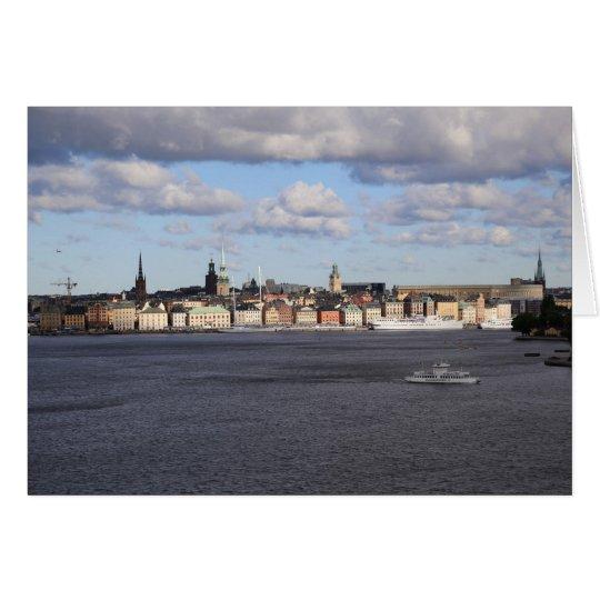 Fotokarte Gamla Stan, Stockholm Karte