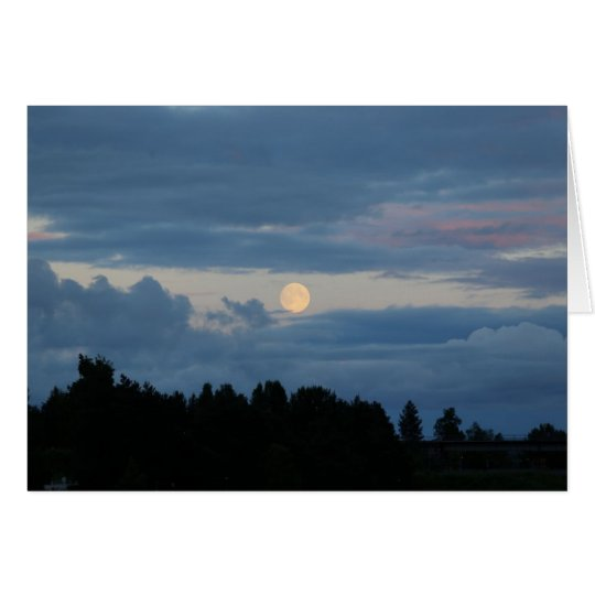 Fotokarte Mond in Rovaniemi Karte