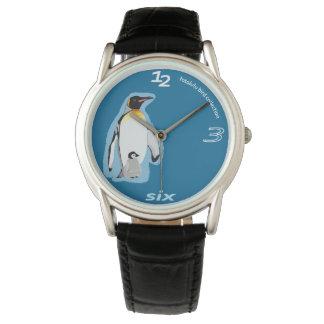 fotolulu-Pinguin-Uhr Uhren