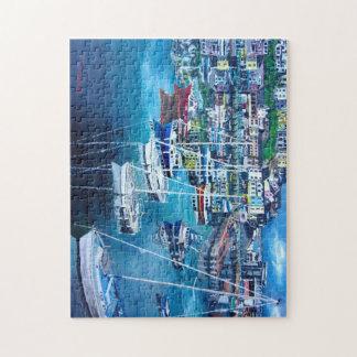 Fotopuzzlespiel des Hafens 1