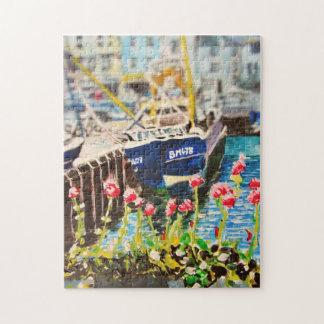 Fotopuzzlespiel des Hafens 3