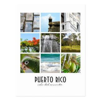 Fotos von Puerto Rico Postkarte