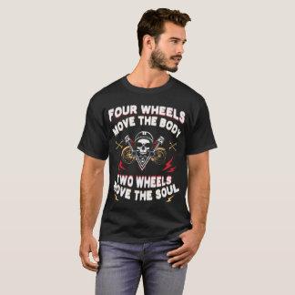 Foue Räder bewegen den Fließtext T-Shirt