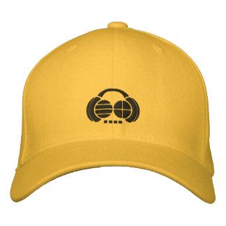 Four4ths - Schwarzes gestickte Logos auf hellem Bestickte Kappe