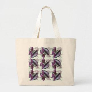 Fourre-tout enorme - flower power sac en toile jumbo