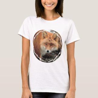 Fox-Arten-Damen-angepasster T - Shirt