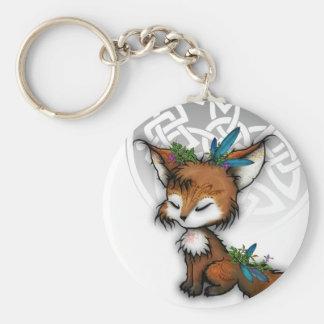 Fox d'esprit porte-clefs