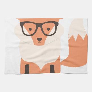 Fox-Hipster Handtuch