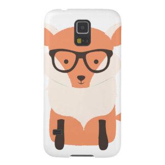 Fox-Hipster Samsung Galaxy S5 Hüllen