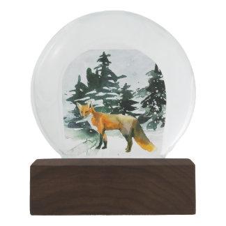 Fox im Wald Snowglobe Schneekugel