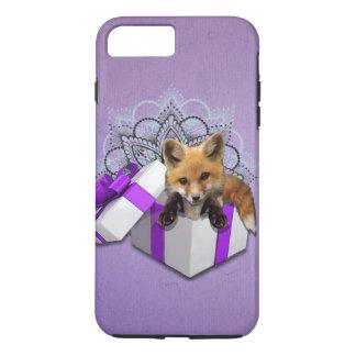 Fox in einem Kasten iPhone 7 Plus Hülle
