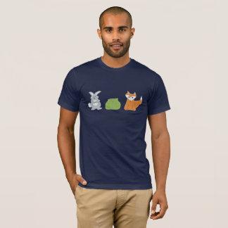 Fox-Kaninchen-Kohl T-Shirt