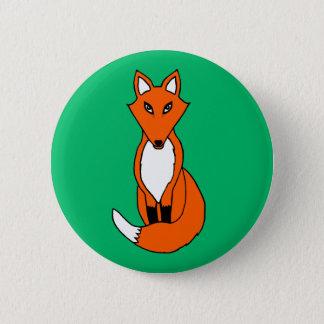 Fox Runder Button 5,7 Cm