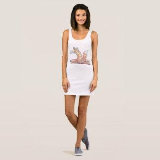 Fox-Schreiber Ärmelloses Kleid