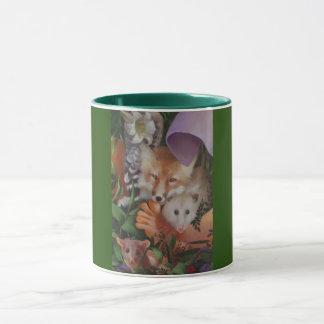 Fox und Noah-Tasse Tasse