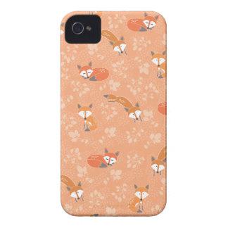 Foxy Blumenmuster Case-Mate iPhone 4 Hüllen