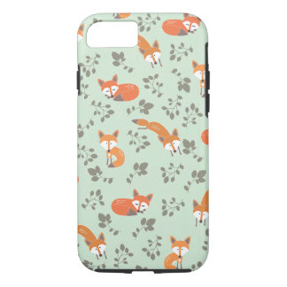 Foxy Blumenmuster iPhone 8/7 Hülle