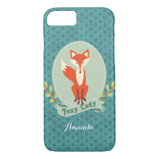 Foxy Dame Argyle iPhone 7 Fall iPhone 8/7 Hülle