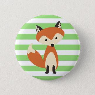Foxy Fox Runder Button 5,1 Cm